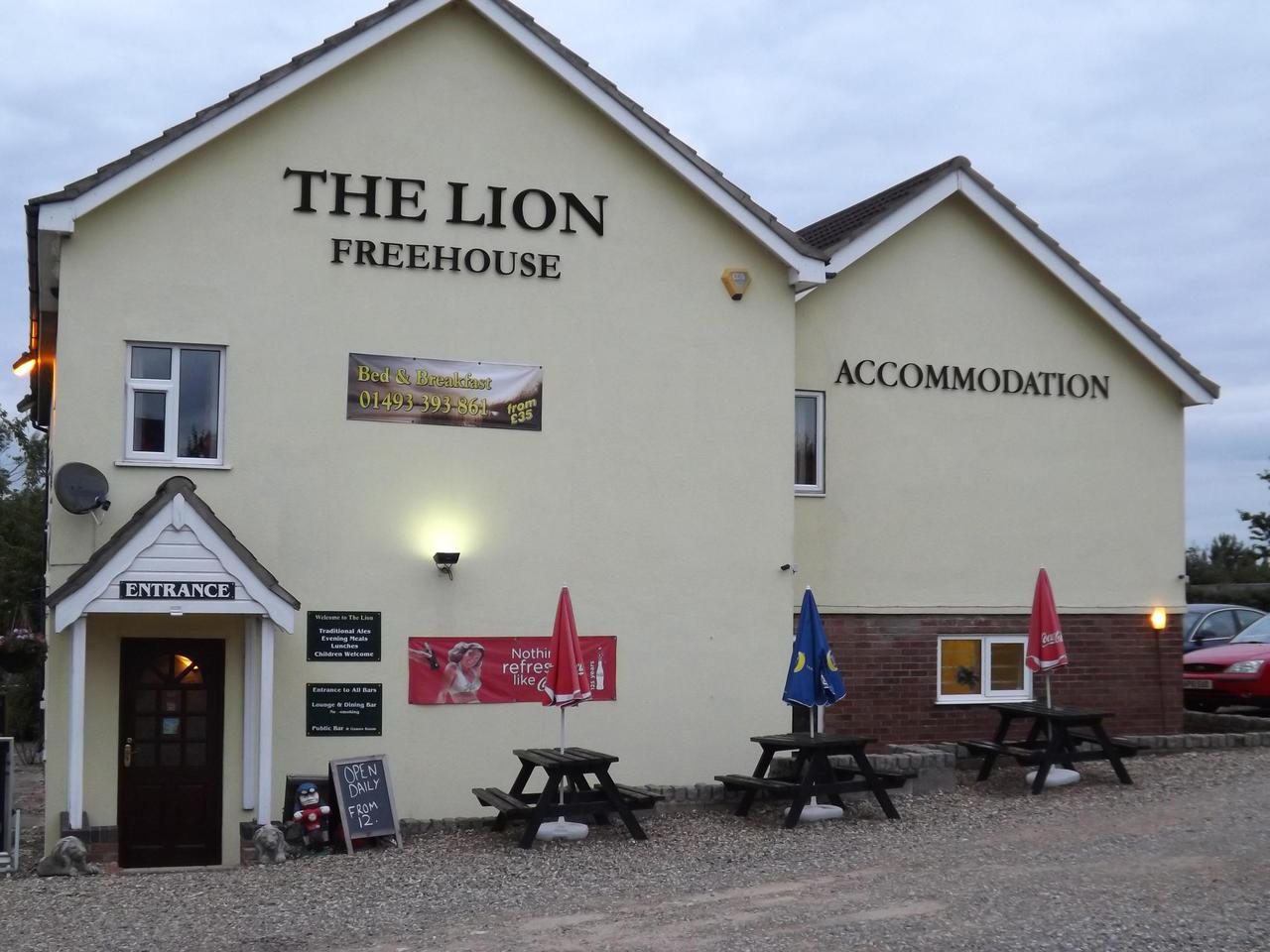The Lion Inn West Somerton in Norfolk
