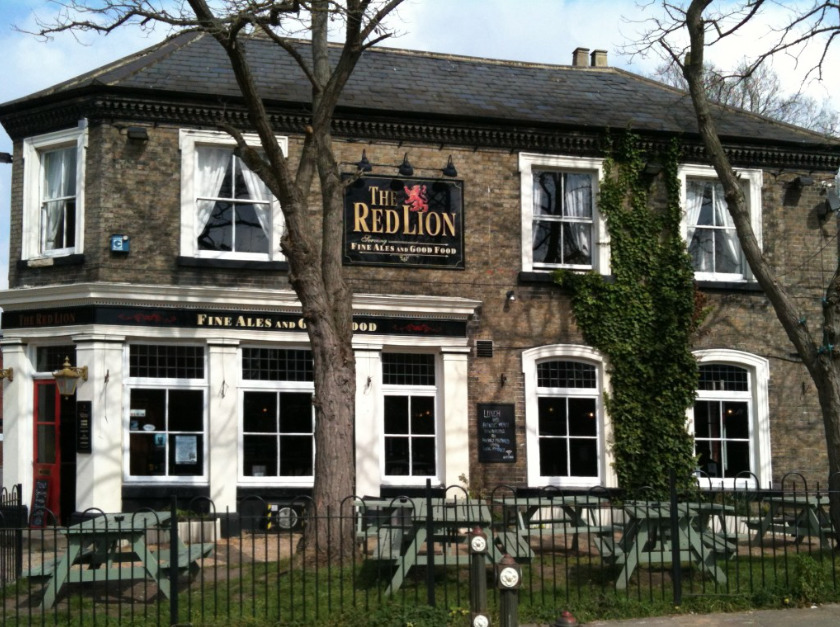 The Red Lion In Bishopsgate Norwich Norfolk