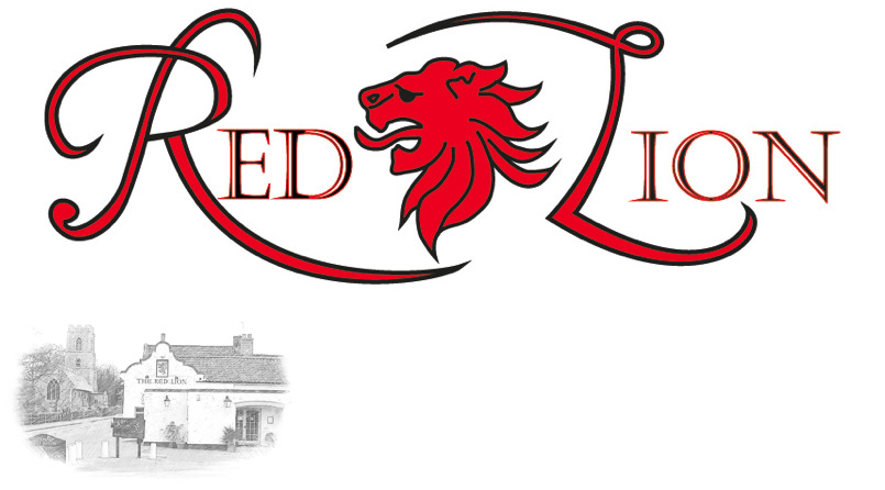 Logo for the Red Lion in Coltishall