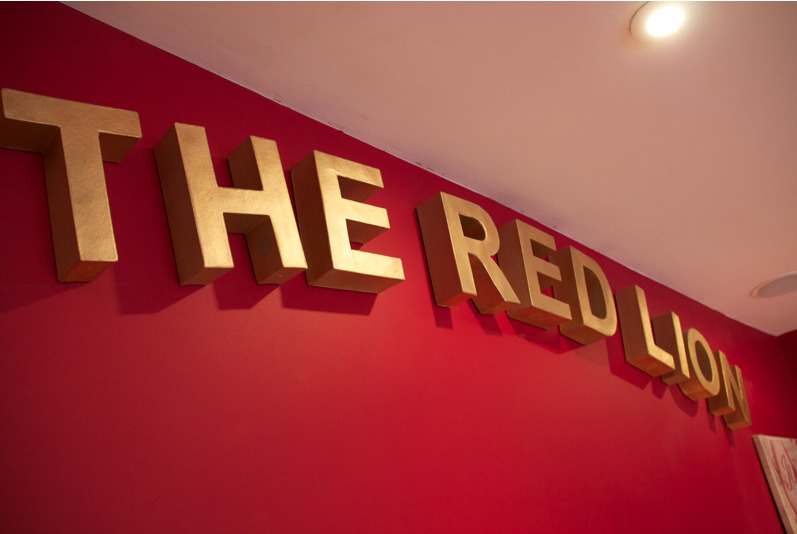 Interior shot of the Red Lion in Coltishall