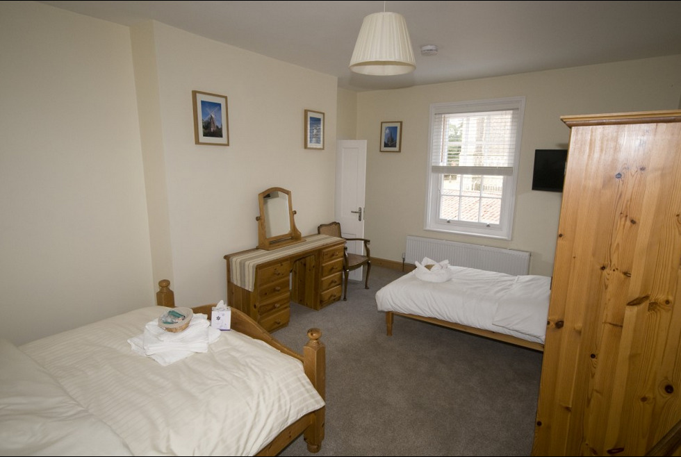 Twin room at The White Lady Worstead
