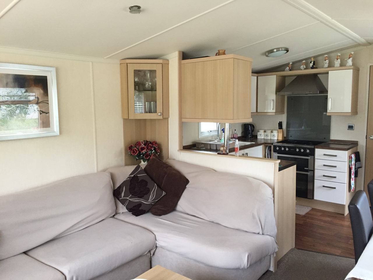 Intertior of Waters Retreat Caravans in Hopton