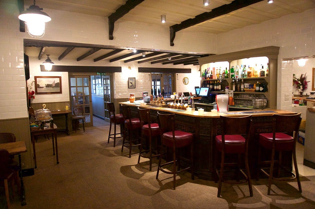 Bar at Wayford Bridge Inn