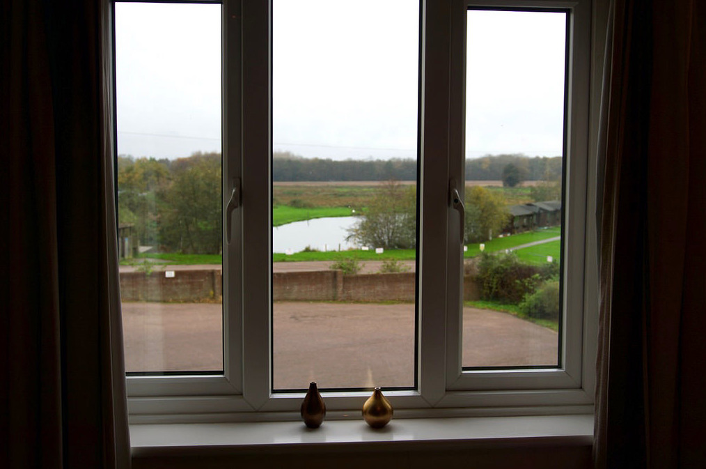 Riverside View from a bedroom at Wayford Bridge Inn