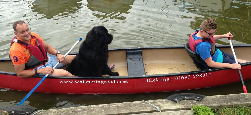Canoe Hire from Whispering Reeds