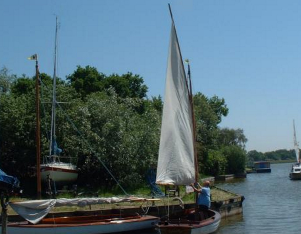 Sailing Cruiser Hire from Whispering Reeds