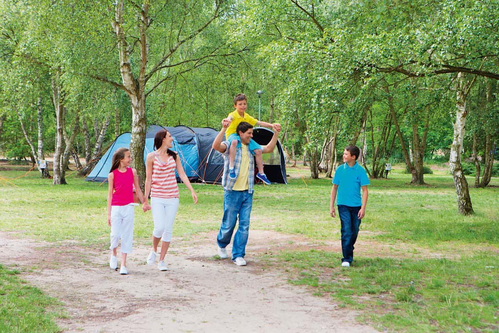 Camping at Haven Wild Duck Resort