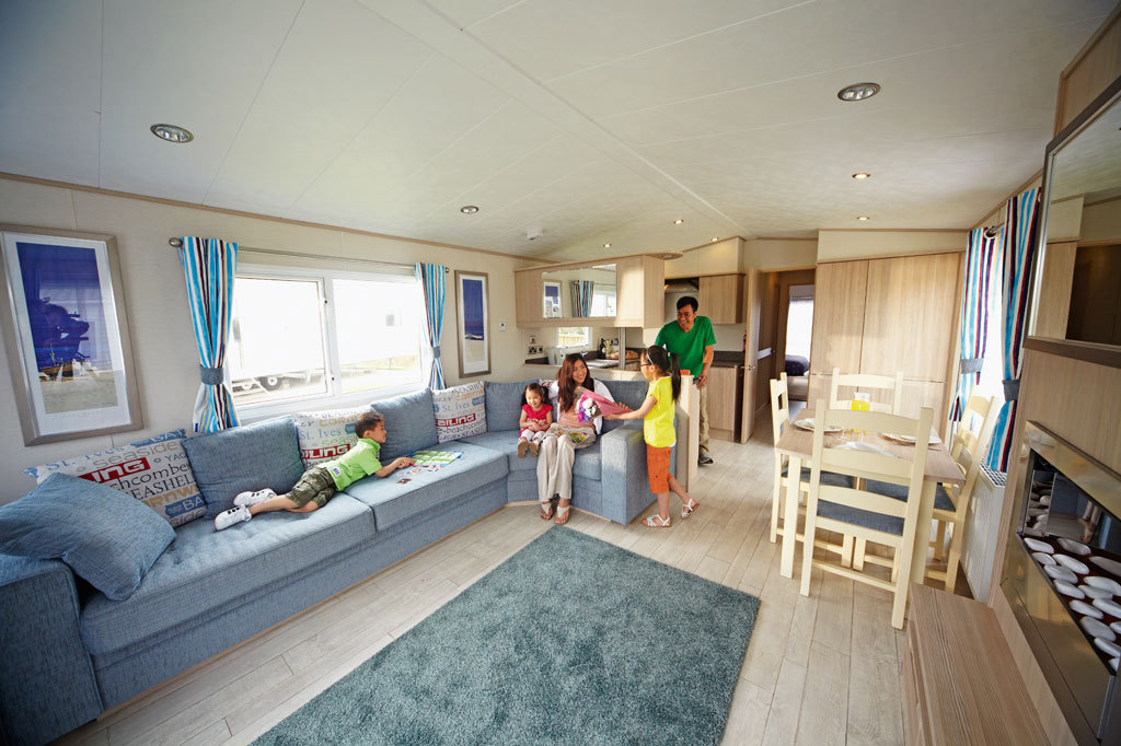 Luxury Caravan at Wild Duck Haven