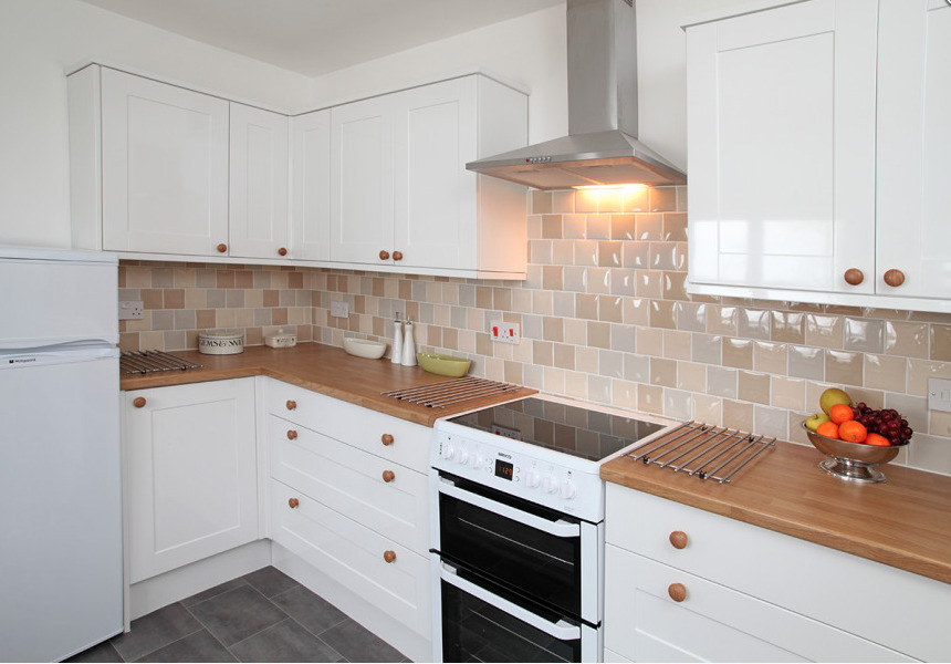 Kitchen in Willow Farm Cottage in Hickling on the Broads