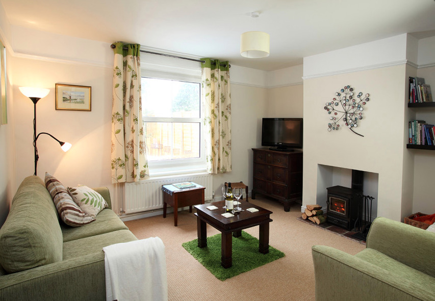 Lounge in Willow Farm Cottage in Hickling