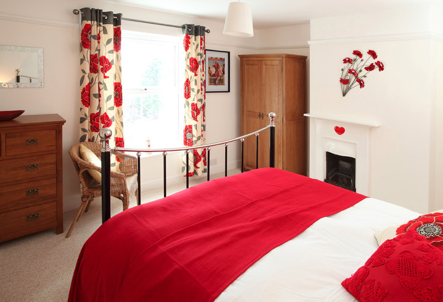 Master Bedroom in Willow Farm Cottage in Hickling