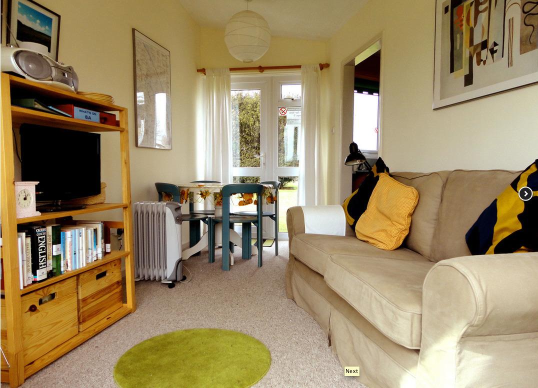 Lounge of Premium chalet in Winterton