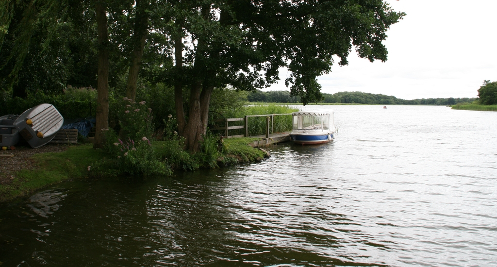 Rollesby Broad in the Norfolk Broads