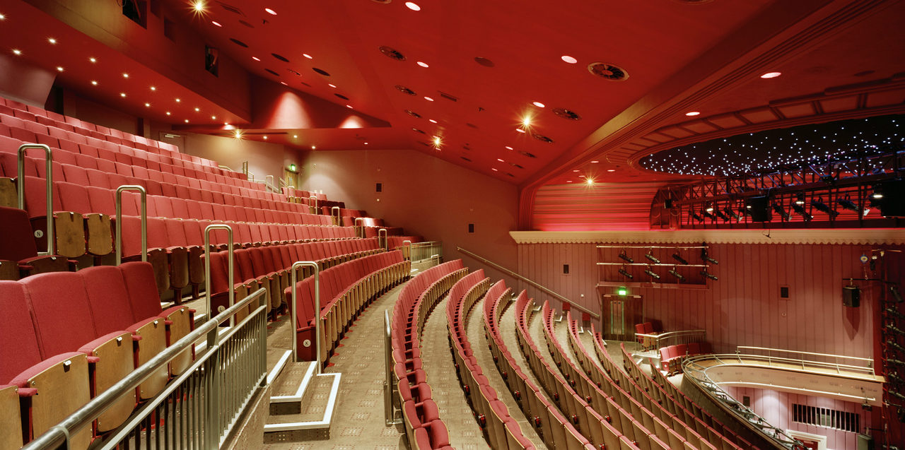 Internal view of the Theatre Royal Norwich