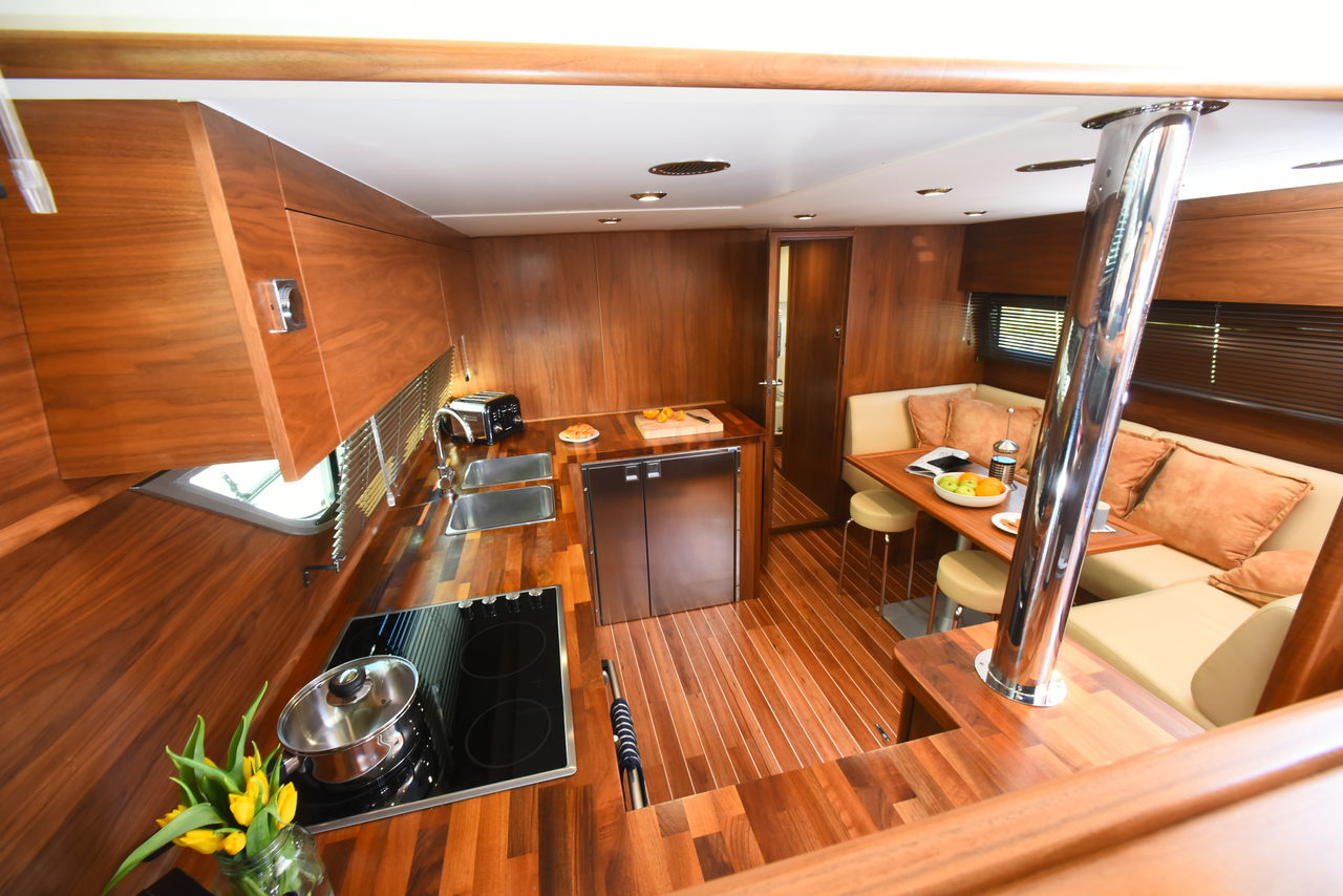 Saloon And Galley Area