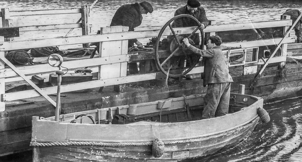 Reedham Ferry Bygone Days