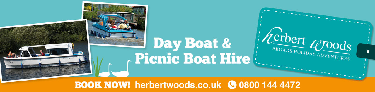 Herbert Woods Day Boat Hire 1140X281
