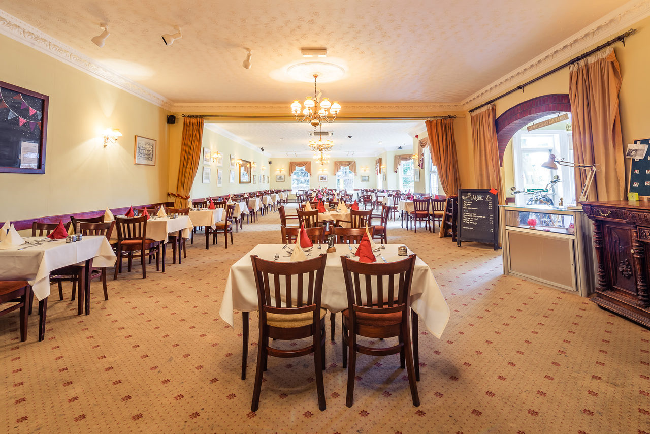 Restaurant At Salhouse Lodge