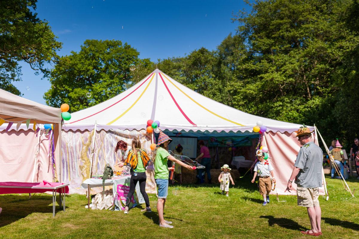 Bewilderwood Tent