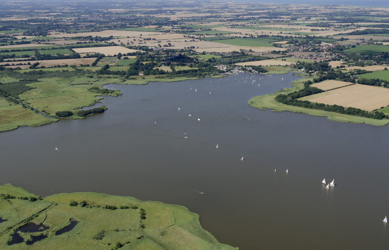 Hickling Broad Aerial 1