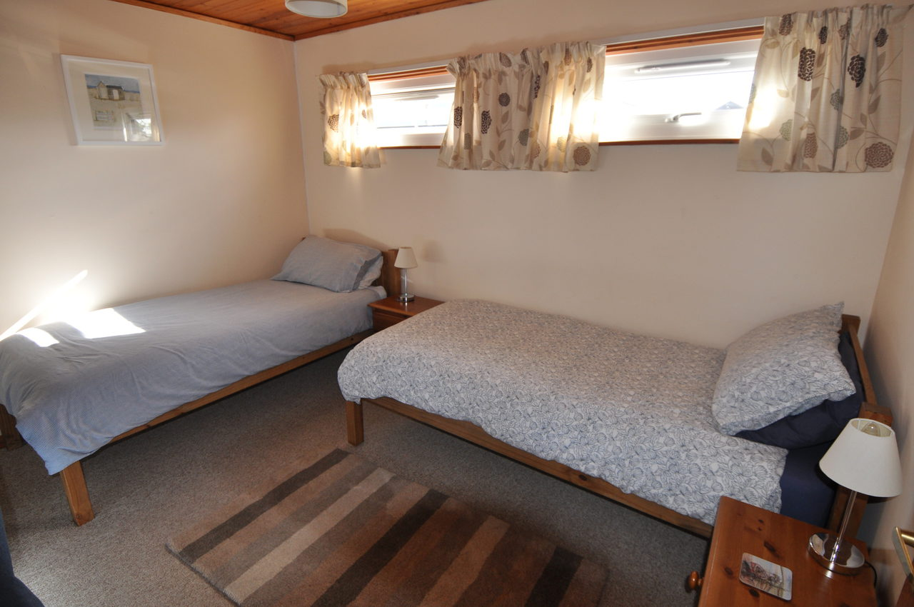 Twin Bedded Room At Moonshine