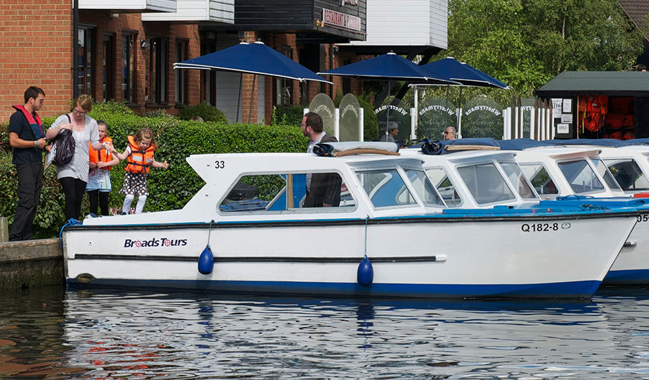 Broads Day Boat Hire