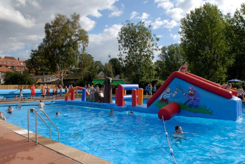 Beccles Lido Inflatables