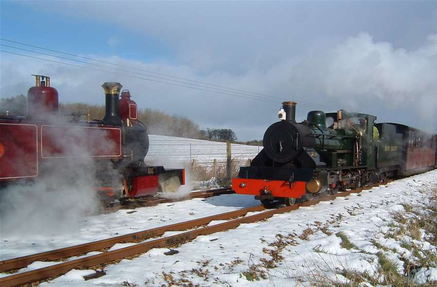 Bure Valley Railway Mince Pie Specials Aylsham Norfolk