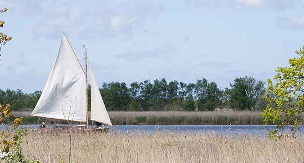 Sailing On Horsey Mere