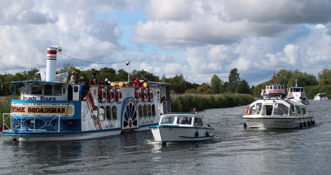 Boat Hire on the Broads