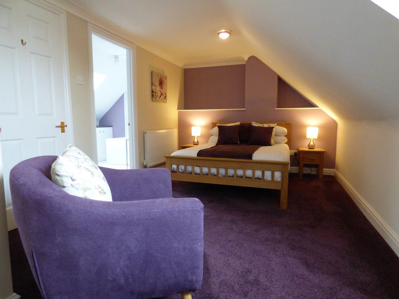 Bure Lodge Masterbedroom