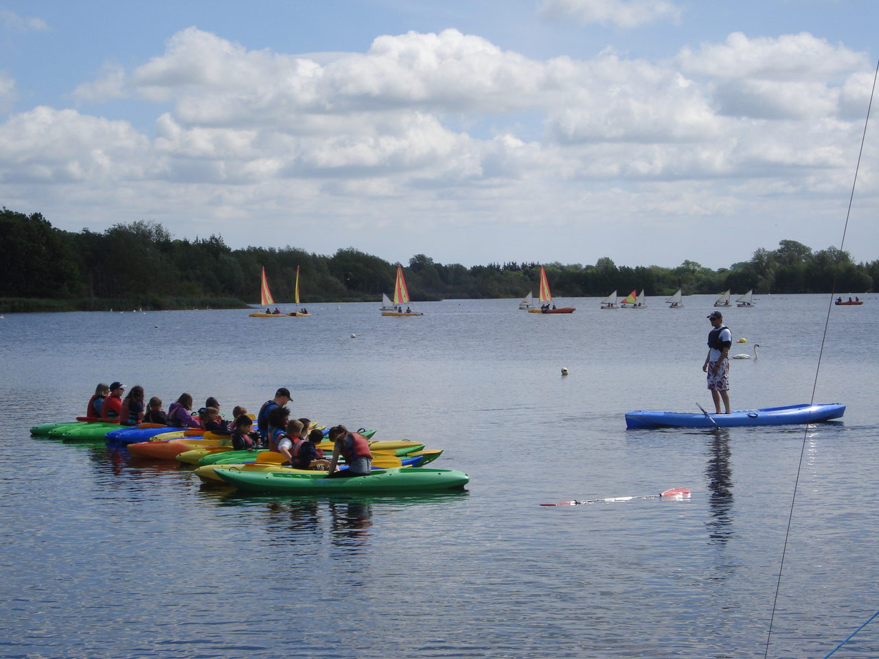 Kayaking At Whitlingham Adventure