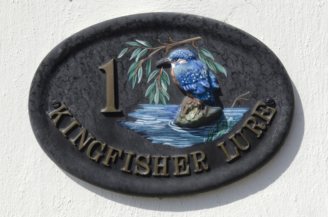 Kingfisher Plaque