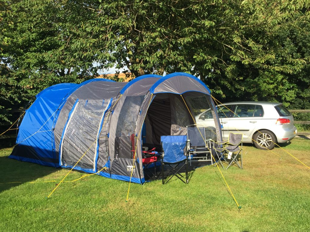 Camping At Highgate Farm