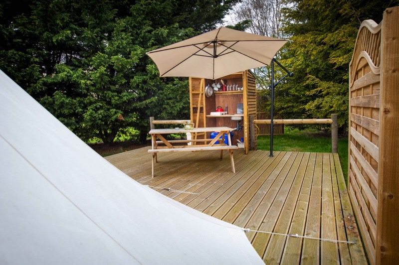 Bell Tent Kithen