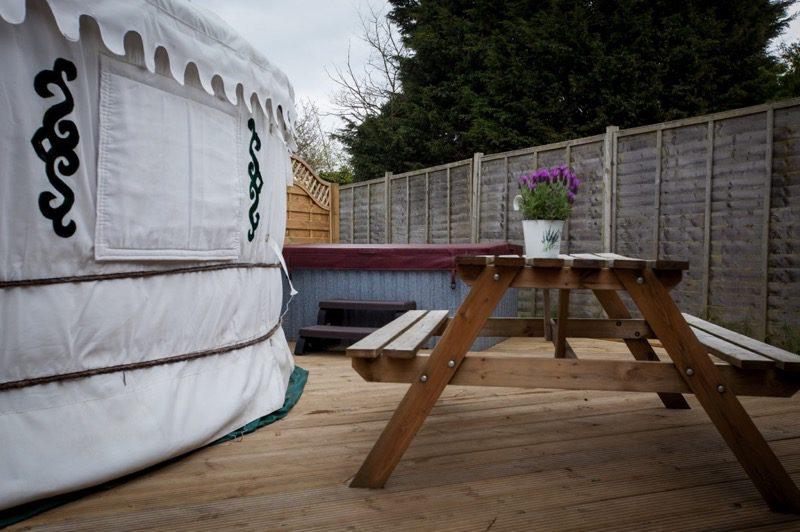Yurt Hot Tub
