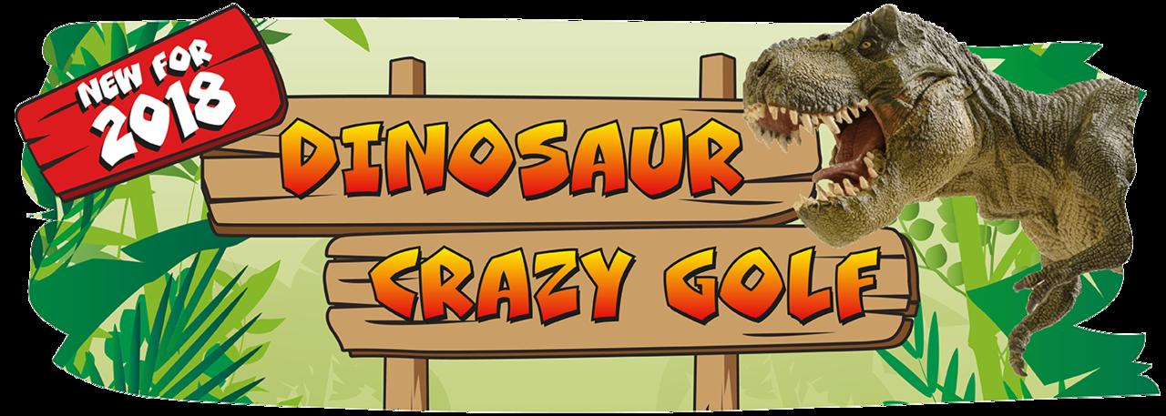 Crazy Golf Banner