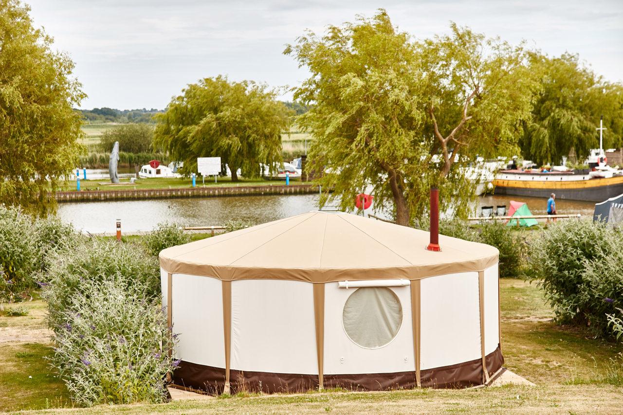 Yurt From Rear