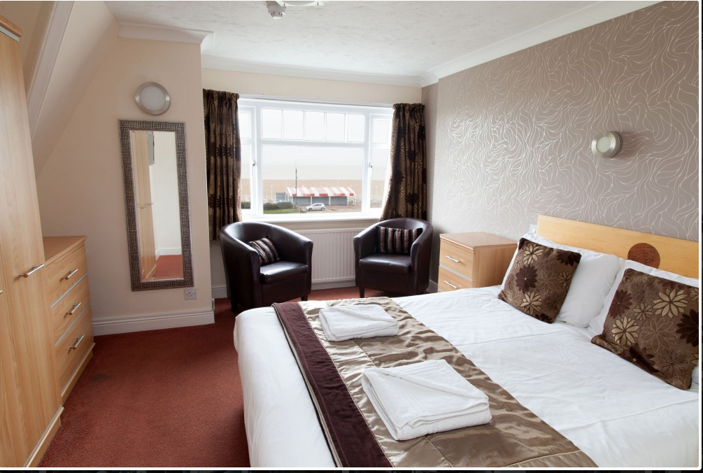 Double Bedroom In The Marinehotel Great Yarmouth