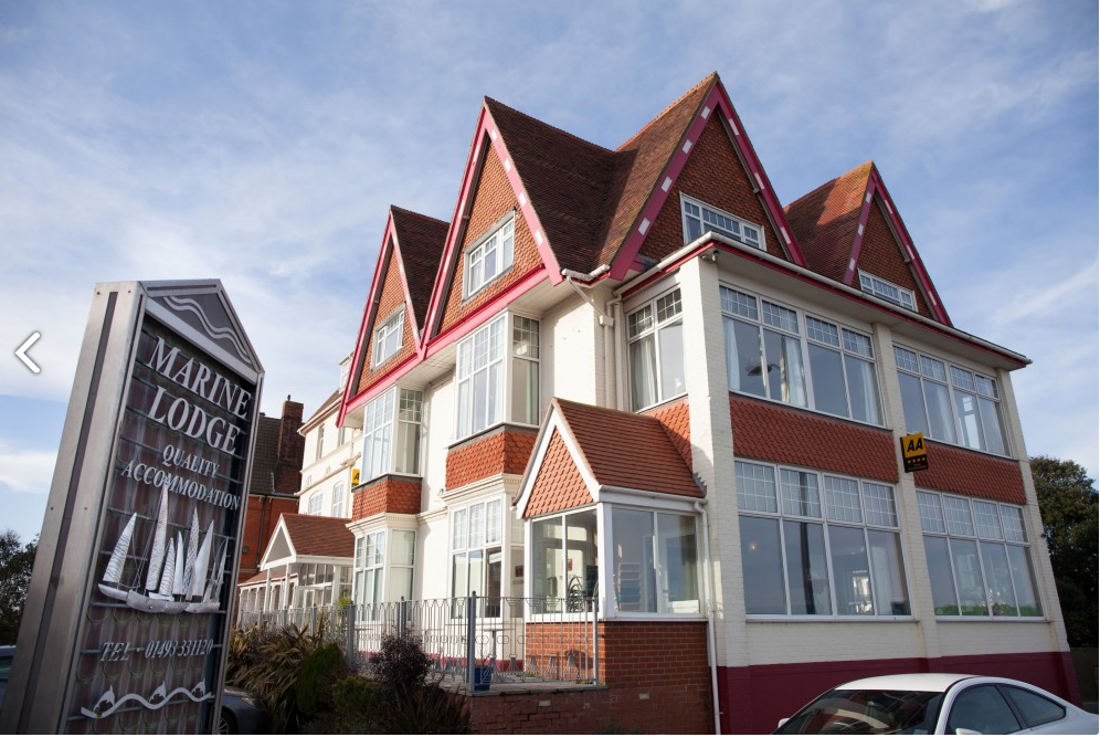 Marine Lodge Hotel In Great Yarmouth In Norfolk
