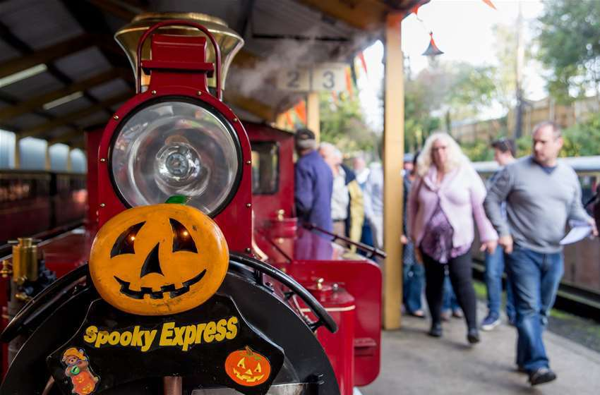 Spooky Express Halloween Bure Valley Railway Aylsham Norfolk
