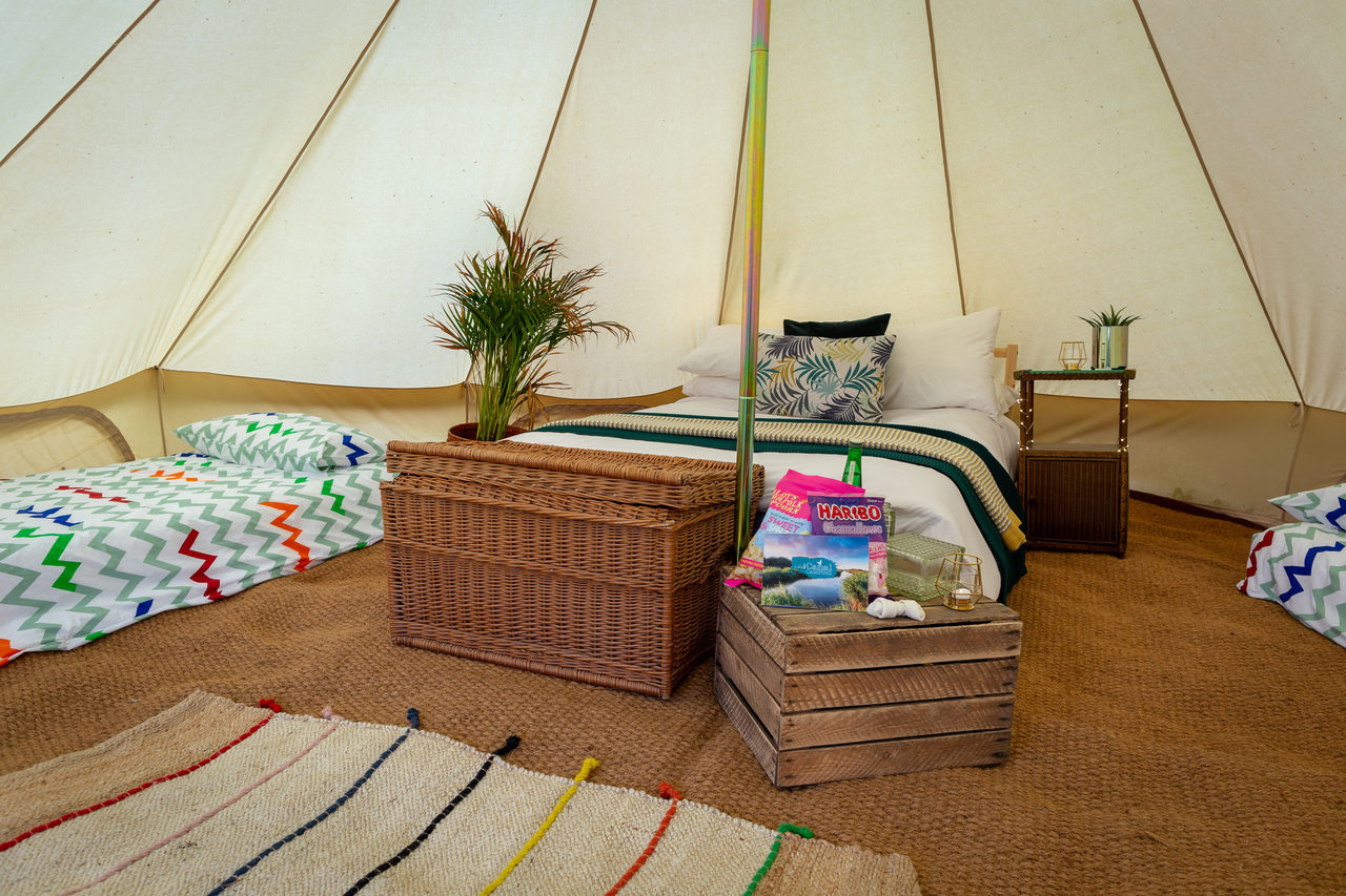 Canal Campsite Bell Tents 8