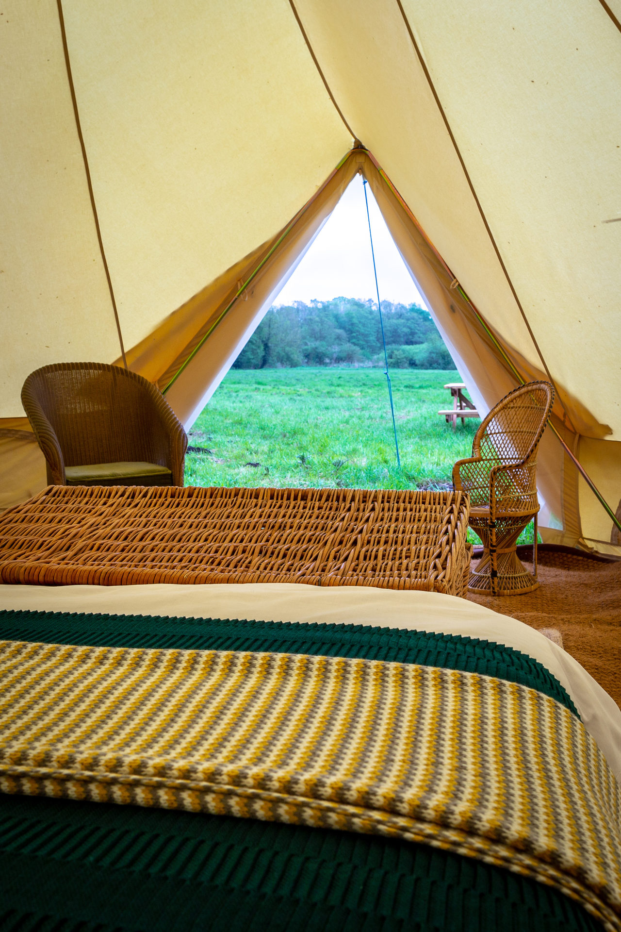 Canal Campsite Bell Tents 10