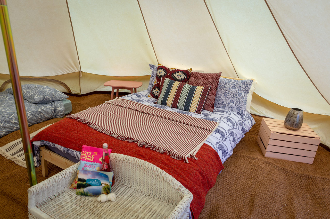 Canal Campsite Bell Tents 50