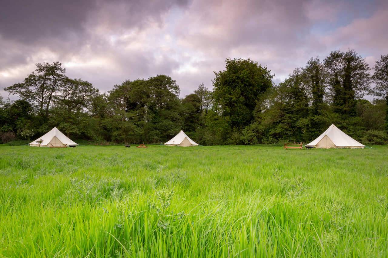 Canal Campsite Bell Tents 69