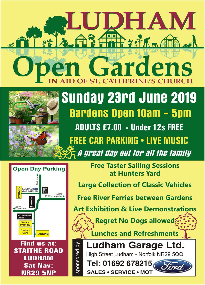Ludham Open Gardens