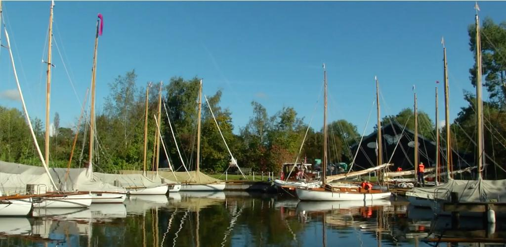 Yachts At Swallowtail Boatyard