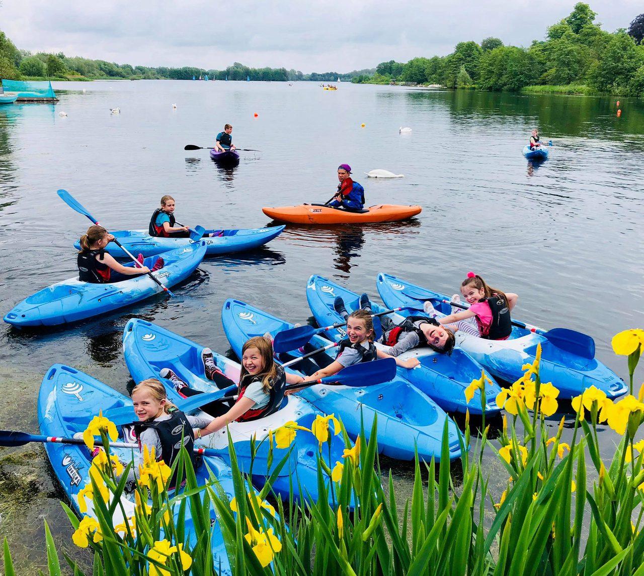 Kayak Birthday Party