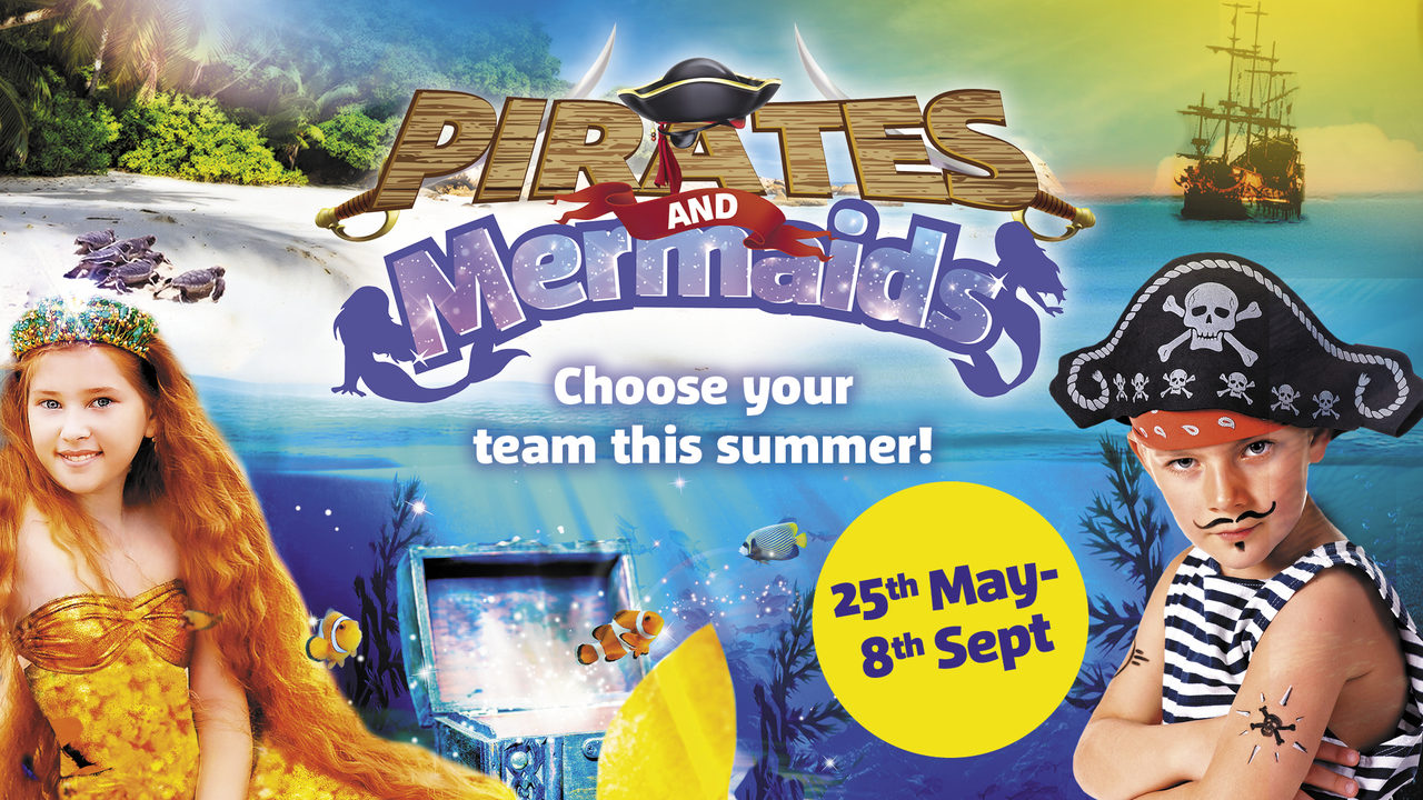 Pirates Mermaids Great Yarmouth 1920X1080