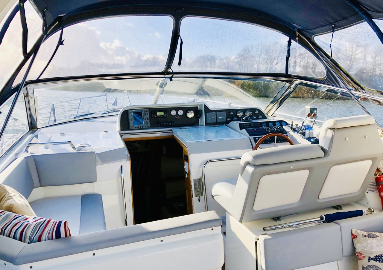 Spacious Cockpit